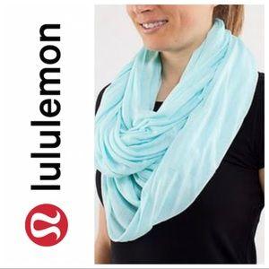 Lululemon Twist & Shout Infinity Scarf Blue